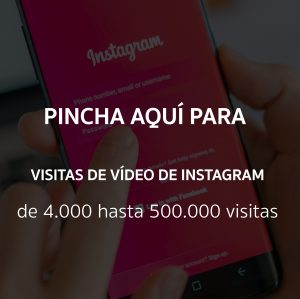 Visitas de video de Instagram